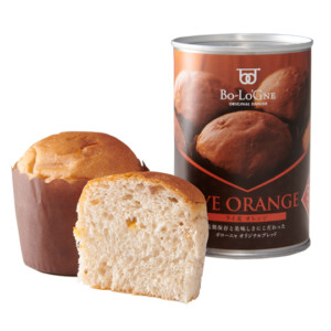 非常食 缶詰パン 備蓄deボローニャ ライ麦オレンジ味 (5年6ヶ月保存)