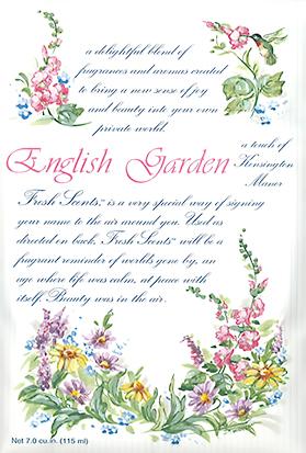 フレグランス ウィローブルック フレッシュセンツL イングリッシュガーデン ENGLISH GARDEN