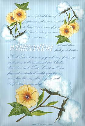 フレグランス ウィローブルック フレッシュセンツL ホワイトコットン WHITE COTTON