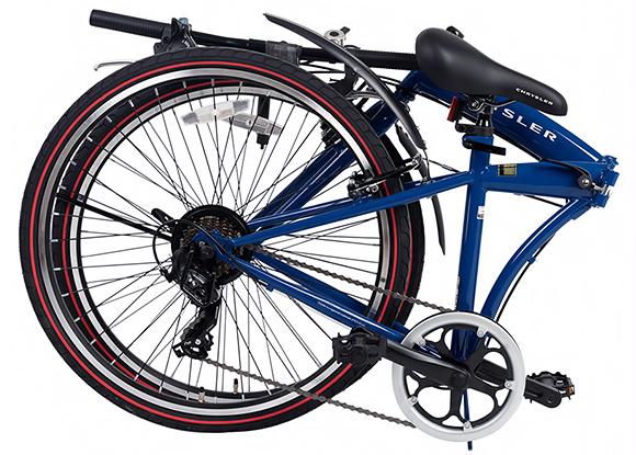折り畳み自転車 クライスラー フォールディングバイク26 写真サンプル1