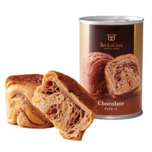 非常食 缶詰パン 缶deボローニャ チョコレート味 (3年6ヶ月保存)
